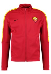 Nike Performance As Rom Tracksuit Top Team Crimson University Gold Red