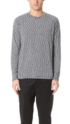 Ovadia And Sons Helium Raglan Long Sleeve Tee Fog