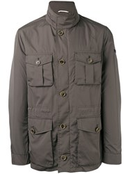 Hackett Lightweight Jacket Men Nylon Polyester Xxl Green