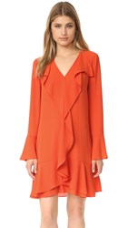 Bcbgmaxazria Flare Dress Saffron