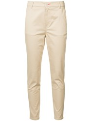Loveless Classic Slim Fit Trousers Brown