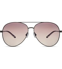 Matthew Williamson Mw144 Aviator Sunglasses Matt Gunmetal