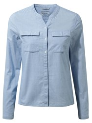 Craghoppers Ravello Long Sleeved Shirt Blue