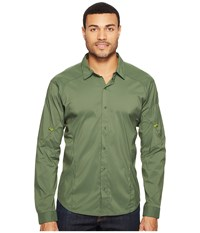 Arc'teryx Elaho Long Sleeve Shirt Cypress Men's Clothing Green