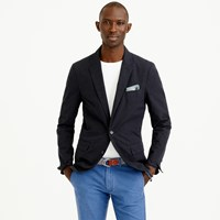 J.Crew Ludlow Sportcoat In Lightweight Glen Plaid Cotton