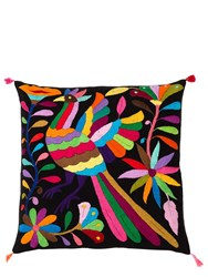 Aniza Exclusive Multicolor Bird Pillow For Lvr