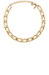 Vanessa Mooney Lucy Choker Metallic Gold