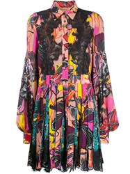 Antonio Berardi Floral Print Shirt Dress 60