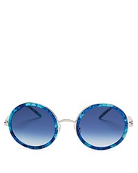 Wildfox Couture Ryder Sunglasses 54Mm Montery Blue Gradient