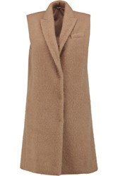 Brunello Cucinelli Brushed Alpaca And Wool Blend Gilet Camel