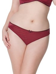 Curvy Kate Ellace Brazillian Briefs Crimson