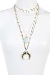 Baublebar Athens Tiered Necklace Multi