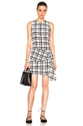 Marissa Webb Tristan Dress In Plaid White