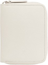Common Projects Woman By White Zip Coin Case Wallet