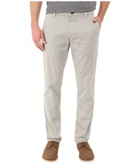 Mavi Jeans Edward Straight Fit Trousers In Grey Twill Grey Twill Men's Casual Pants Gray