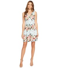 Jessica Simpson Floral Fit And Flare Dress Print Women's Dress Multi