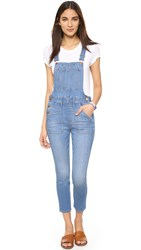Madewell Skinny Cropped Overalls Hewitt