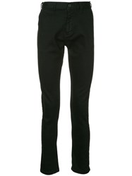 Makavelic Stretch Skinny Trousers Black