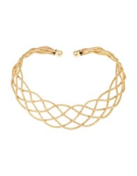Robert Rose Caged Collar Necklace