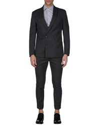 Mauro Grifoni Suits And Jackets Suits Men Steel Grey
