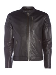 Label Lab Edgar Biker Jacket Black