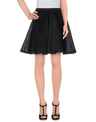 Jovonna Skirts Knee Length Skirts Women Black