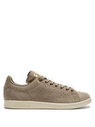 Adidas Stan Smith Low Top Suede Trainers Grey