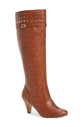 Bella Vita Women's 'Taryn Ii' Boot Camel Faux Leather