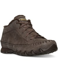 Skechers Women's Relaxed Fit Bikers Totem Pole Boots From Finish Line Chocolate