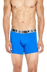 Andrew Christian Men's 'Vibe' Stretch Boxer Briefs Electric Blue