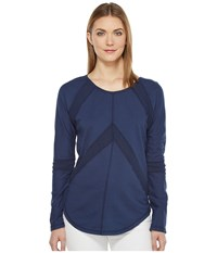Mod O Doc French Terry Pullover New Navy Women's Clothing