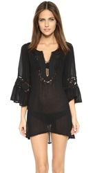 L Space Chase The Sun Breakaway Cover Up Black