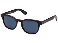 Paul Smith Hadrian Sun Cherrywood Stripe Blue Fashion Sunglasses