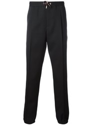 Christian Dior Homme Slim Fit Track Pants Black