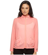 Jamie Sadock Sunsence Lightweight Jacket With Uvp 30 Tutti Fruiti Women's Coat Orange