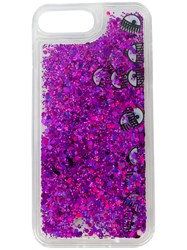 Chiara Ferragni Glitter Eyes Iphone 7 Plus Case Polyester Nude Neutrals