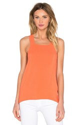 1. State Cross Back Tank Coral