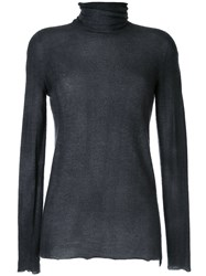 Avant Toi Turtle Neck Fitted Top 60