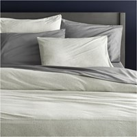 Cb2 Recycled Jersey King Duvet