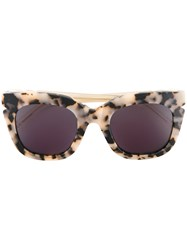 Pared Eyewear Pools And Palms Sunglasses Women Plastic One Size Brown