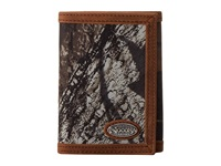 Mandf Western Nocona Mossy Oak Camo Tri Fold Wallet Mossy Oak Wallet Handbags Brown