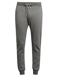 Frescobol Carioca Cotton Blend Jersey Trousers Grey