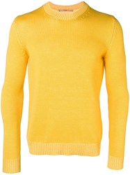 Nuur Ribbed Jumper Yellow And Orange