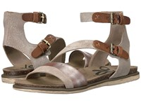 Otbt March On Grey Silver Women's Dress Sandals Gray