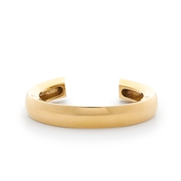 J.Crew Thick Beveled Cuff Gold