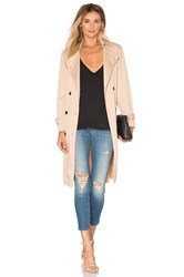 Lucca Couture Ali Trench Coat Tan