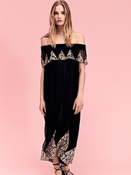 Nightcap Antique Lace High Low Maxi Dress By