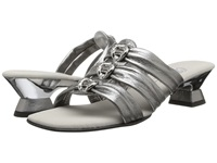 Onex Enchanted Pewter Leather Women's Dress Sandals