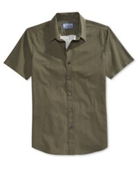 American Rag Men's Riley Short Sleeve Shirt Only At Macy's Forest Night