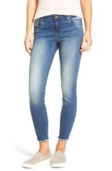 Kut From The Kloth Women's Connie Frayed Skinny Ankle Jeans